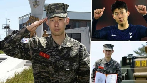 Heung Min Son Tottenham Military Service South Korea