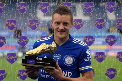 Jamie Vardy Golden Boot 201920