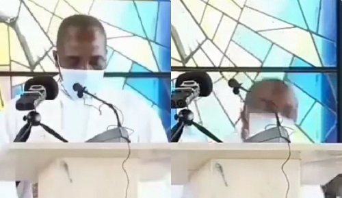 Catholic priest slumps and 'dies' while preaching during Sunday mass in Cameroon