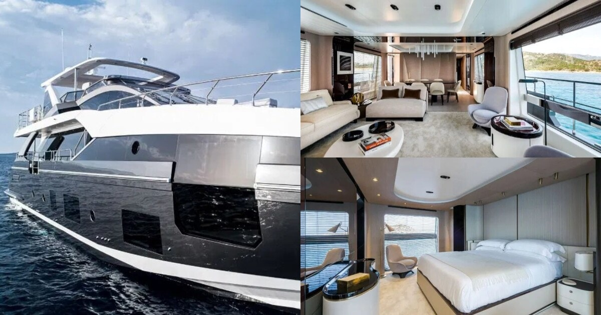 Inside Juventus star's yacht which has modern kitchen, huge lounge