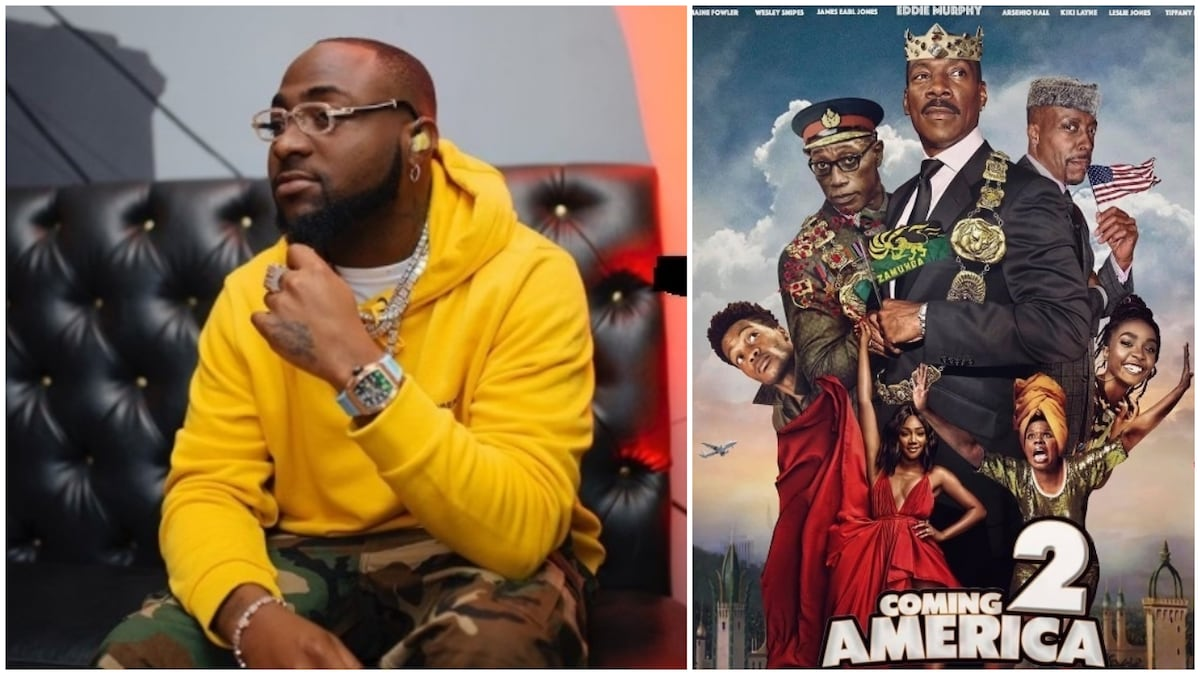 Davido Set to Feature in Hollywood Movie Coming to America 2